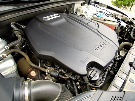 Audi, A5, Engine, Car, Car Brand, Character, Machine