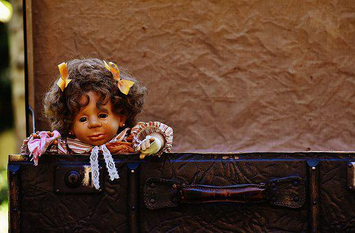 Doll, Girl, Cry, Farewell, Cute, Children, Funny, Sweet