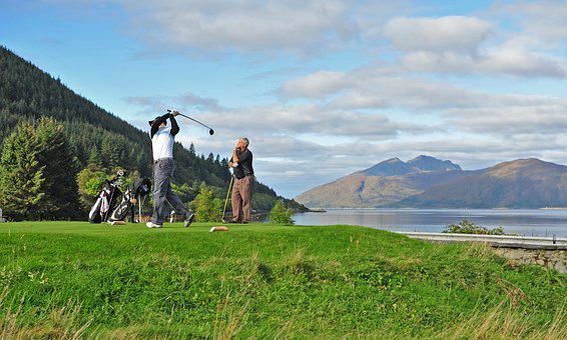 Golf, Scottish Golf, Loch Linnhe, Dragons Tooth