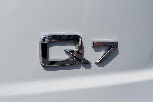 Audi, Q7, Suv, White, Elegant, Auto, Pkw, Automotive