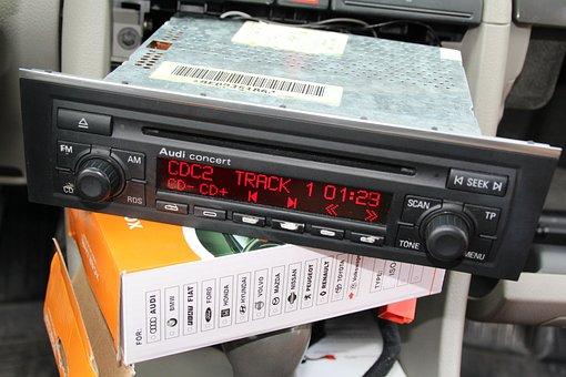 Radio, Emulator, Changer, Audi, Concert, Display, Auto