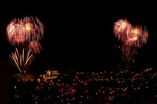 Fireworks, Pyrotechnic, Firework, Explosion, New Years