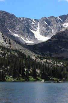Mountain, Forest, Rocky Mountain National Park