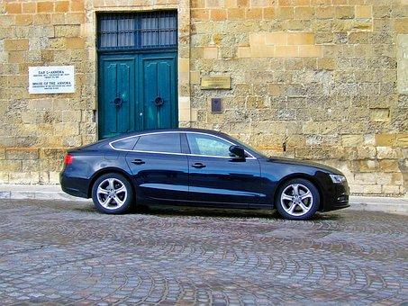Audi A5, Black Car, Luxury Car, Audi, German Car