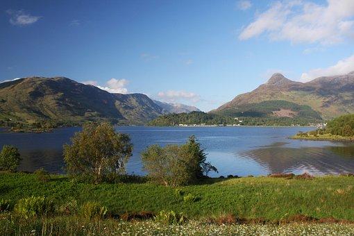 Loch Leven, Glen Coe, Pap, Sea Loch, Sea, Coast