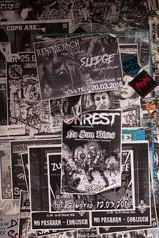 Music Locally, Hamburg, Harbor Locally, Posters, Punk