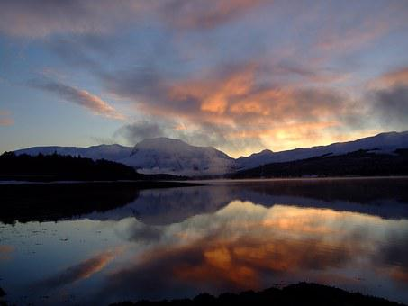 Ben Nevis, Loch Eil, Loch, Highest, Peak, Mountain