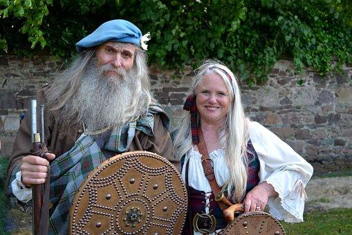 Inverness, Highland Games, Scotland, Kilt, Water