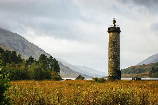 Glenfinnan, Monument, Scotland, Highlands, Landmark