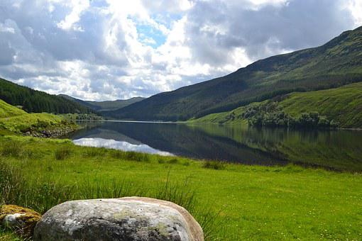 Scotland, Strathconnon, Ross-shire, Highlands, Hills