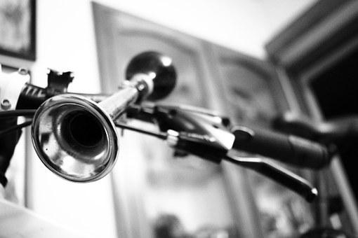 Horn, Handle, Bicycle, Bike, Cycle, Cycling, Loud