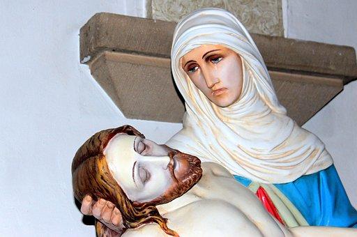 Jesus, Maria, Jesus In The Poor Of Maria, Keep Head
