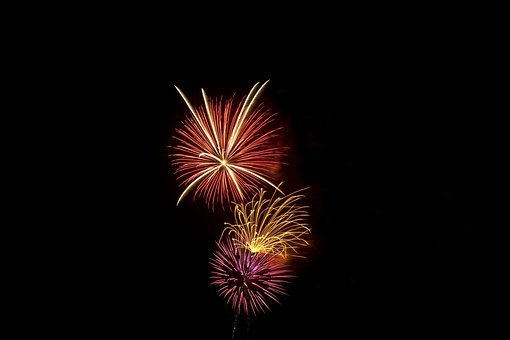 Fireworks, Independence, Pyrotechnics, Light, Holiday