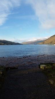 Kenmore, Loch, Water, Scotland, Tay, Perthshire