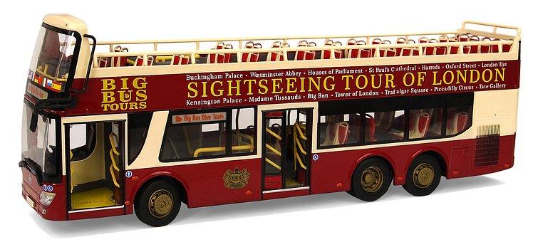 Ankai, Alex Type 6121, Model Buses, Sightseeing Tours