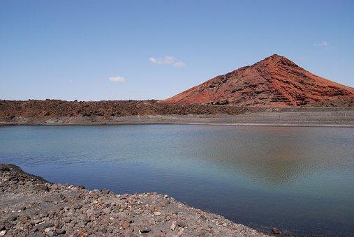 Lanzarote, Montana Of The Vieja, Volcano