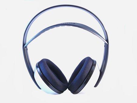 Headphones, Wireless, Technology, Music, Sound, Beat