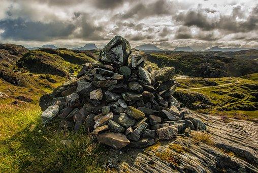Lochinver, Coast, Scotland, Sea, Ocean, Nature, Light