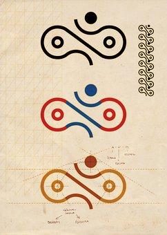 Dolphin Rider, Symbol, New Age, Paper, Spiritual, Age