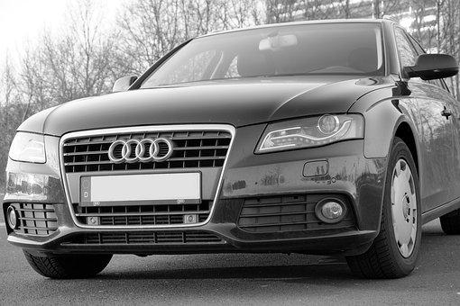 Audi, A4, Pkw, Vehicle, Metal, Auto, Automotive, Park