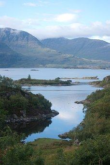 Plockton, Scotland, Loch, Scenic, Mountain, Picturesque