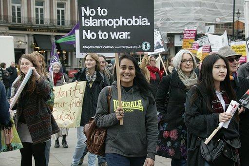 Protest, Protesters, Demonstration, Street, Strike