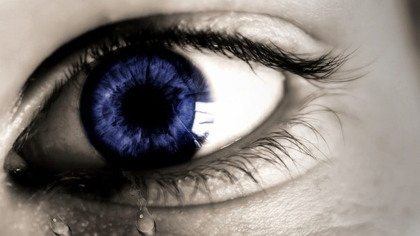 Eye, Tear, Sadness, Cry, Sad, Human, Expression