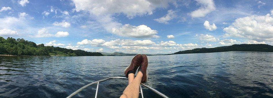 Boat, Scotland, Loch Lomond