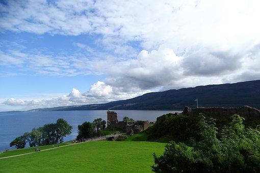 Scotland, Loch Ness, Highlands And Islands, Ruin