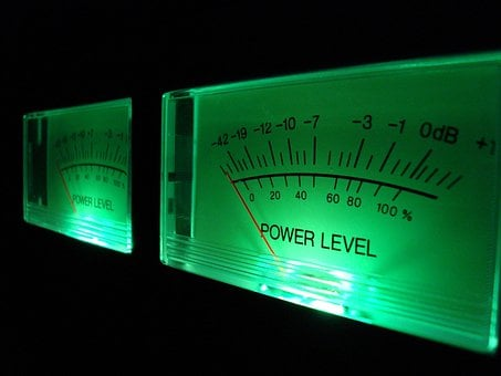 Vu Meter, Analog, Volume Level, Sound, Vu, Music, Audio