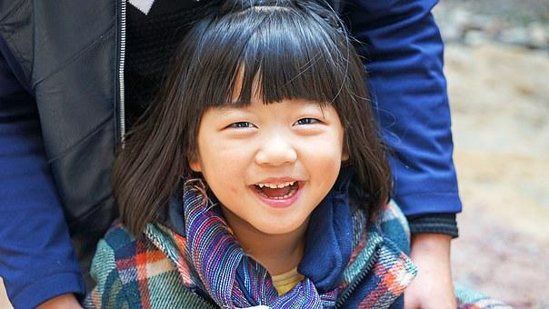 Asia, China, Girls, Laugh, Happy, Excited, Cute, Sweet