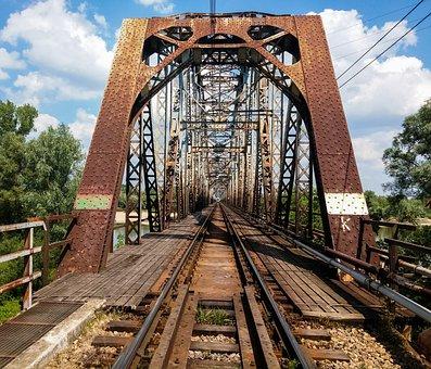 Bridge, Railway Bridge, The Viaduct, Tracks