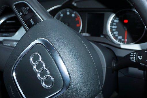 Audi, Steering Wheel, Pkw, Vehicle, Auto, Dare