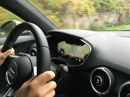 Audi, Tt, Virtual Cockpit, Auto, Vehicle, Automotive