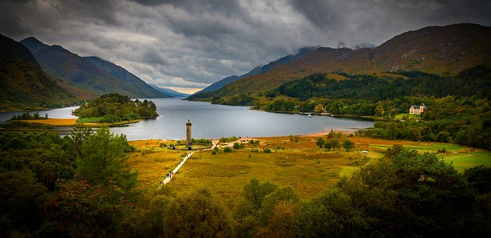 Scotland, Lake, Lakes, Loch, Nature, Water, Glenfinnan