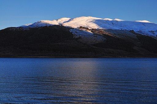 Loch Leven, Scotland, Highlands, Great Britain, Winter