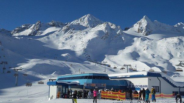 Alps, Mountains, Snow, Snowy Alps, Winter Holidays