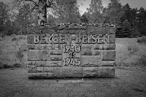 Memorial, Belsen Mountains, Holocaust, History
