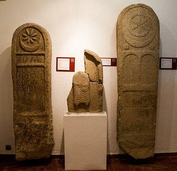 Stone, Archaeology, Castros, Vigo, Funerary Stele