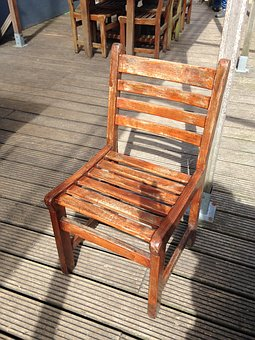 Chair, Wood, Sun, Terrace, Atmosphere, Sit, Chairs