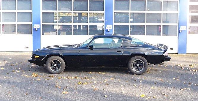 Oldtimer, Classic, Chevrolet, Camaro, Vehicle, Pkw