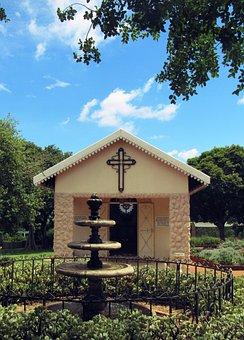 Church, Cross, Christianity, Building, Religion