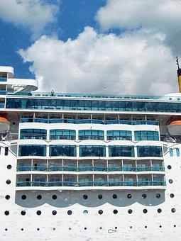 Ship, Cruise Ship, Cruise, Shipping, Holiday, Cruiser