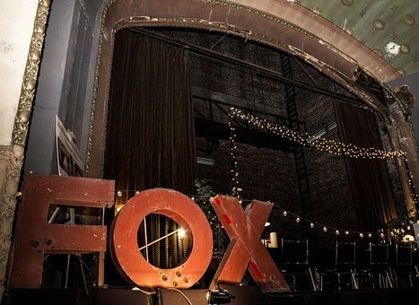 Fox Theater, Theater, Lighting, Show, Fox, Movie, Opera
