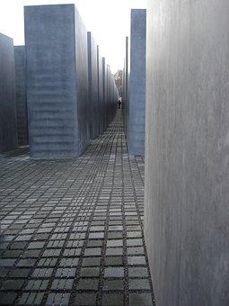 Berlin, Holocaust, Memorial, Concrete, Genocide