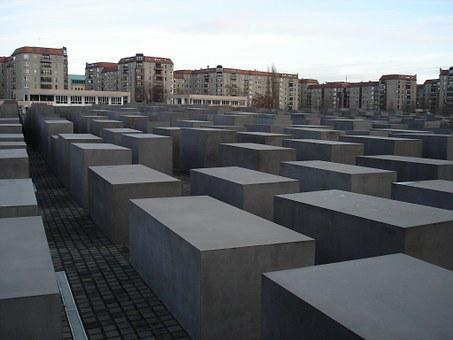 Holocaust, Memorial, Berlin, Concrete, Landmark
