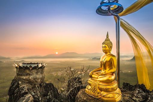 A Beautiful View, พระ, Sea Fog, Image View, Religion