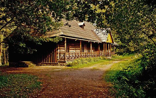 Cottage, House, Old House, Wooden House, Monument