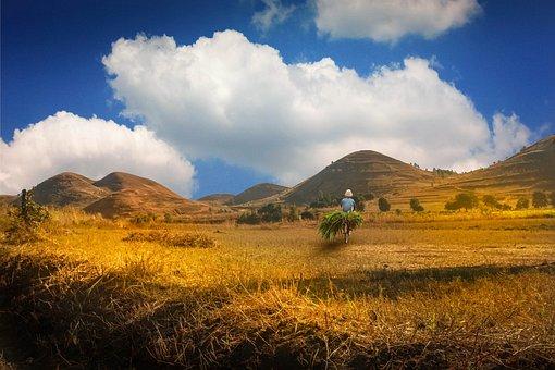 Madagascar, Dune, Valley, Mountains, Nature, Hiking