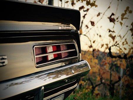 Camaro Rs, Oldtimer, Brown, Historically, Vehicle, Old